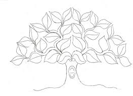 Tree Trunk Coloring Pages