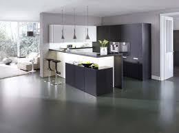 cuisine avec presqu ile cuisine leicht modern style guérande 44 le bihen cuisine