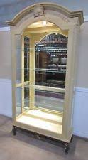 Pulaski Glass Panel Display Cabinet by Pulaski Curio Furniture Ebay