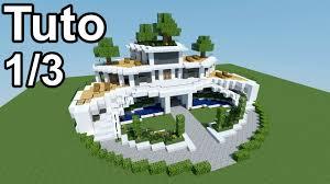maison de luxe minecraft minecraft tutoriel maison moderne 1 3