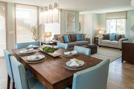 Pacific Beach House Contemporary Dining Room