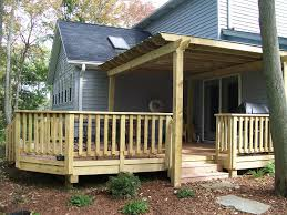 DIY Wood Deck Railing Ideas : Doherty House - Durability Of Wood ... Best 25 Deck Railings Ideas On Pinterest Outdoor Stairs 7 Best Images Cable Railing Decking And Fiberon Com Railing Gate 29 Cottage Deck Banister Cap Near The House Banquette Diy Wood Ideas Doherty Durability Of Fencing Beautiful Rail For And Indoors 126 Dock Stairs 21 Metal Rustic Title Rustic Brown Wood Decks 9