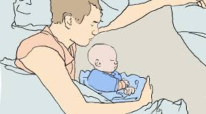 wie babys sicher im elternbett schlafen new kitz on the