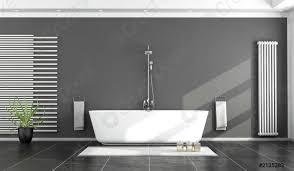 foto auf lager schwarz weißes modernes badezimmer