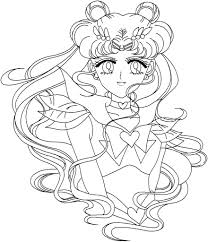 Download Coloring Pages Sailor Moon Free Printable For Kids