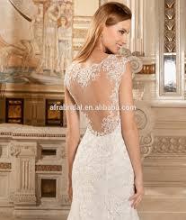 sd902 sheer back see through corset wedding dress mermaid