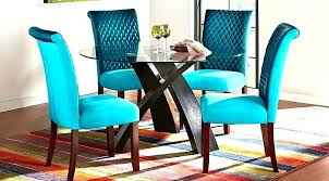 Teal Dining Table Blue Set Turquoise Living Room Astonishing Decor Vanity