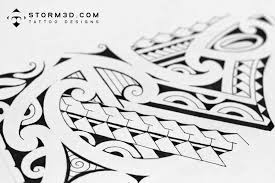 Maori Leg Band Tattoo Design Photo 2
