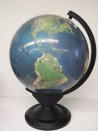 Nystrom Desk Atlas Online by Globes Antique 14 To 16 Inches In Diameter