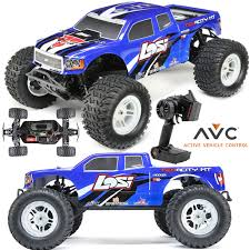 100 Losi Trucks LOS03012T2 110 TENACITY 4WD Monster Truck Brushless RTR W AVC