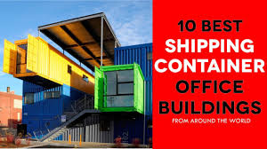 100 Cargo Container Buildings 10 Awesome Modern Shipping Office Around The