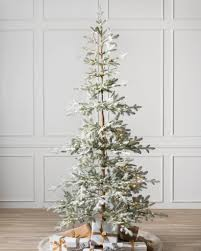 Fraser Fir Artificial Christmas Tree Sale by White Artificial Christmas Trees Balsam Hill
