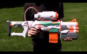 nerf modulus tri strike range test stock
