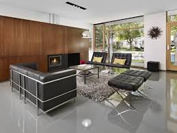 fabulous black leather sofa decorating ideas
