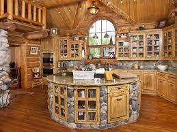 wood cabin kitchen best 25 log cabin kitchens ideas on pinterest