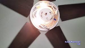 Ceiling Fan Light Flickers Then Turns Off by Ceiling Fan Lights Blink Off Even With Just One Bulb Only Turn On