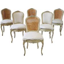19th Century Louis XV Antique French Cane Dining Chairs With ... How To Transform A Vintage Ding Table With Paint Bluesky Pating My Antique Six Edwardian French Painted Chairs 364060 19th Century Country Set Of 6 Balloon Back Good 1940s Faux Bamboo Eight 1920s Pair Regency 2 Side White Chippy Chair Early 20th Louis Xvi Chairsset 8 Abc Carpet Home Style Fniture And European Buy Cheap Punched Wood Handpainted