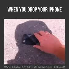 When You Drop Your Iphone And He Is Not Broken by R MOUHSSINE