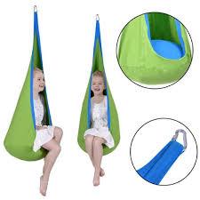 siege balancoire enfant enfants chaise hamac suspendue siège balançoire crochet intérieur