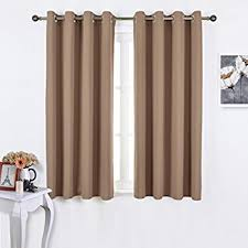 Amazon Prime Kitchen Curtains by Amazon Com Blackout Curtains And Drapes For Kitchen Cappuccino