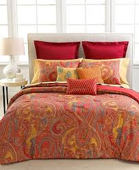 Red Paisley Bedding Sets 437