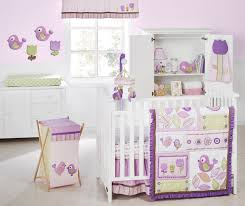 Nursery Crib Bedding Sets U003e by Purple Crib Bedding Sets Crib Bedding Set Gray Purple Elephant