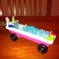 Bathtub Girl Pinewood Derby Car
