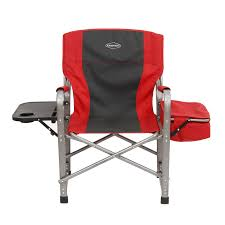 Kamp-Rite Outdoor Camp Folding Director's Chair With Side Side Side ... Directors Chairs With Folding Side Table Youtube Mings Mark Stylish Camping Brown Full Back Chair Costway Compact Alinum Cup Deluxe Tall Director W And Holder Side Table Cooler Old Man Emu Adventure 4x4 With Black 156743 Rv Outdoor Meerkat Bushtec Heavy Duty Marquee Alinium Home Portable Pnic Set Double Chairumbrellatable Blue Shop Outsunny Steel Camp