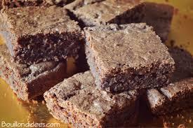 cuisiner sans lait et sans gluten brownie revisité sans glo sans gluten sans lait sans oeuf
