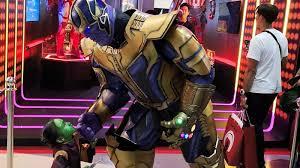 Avengers Infinity War Thanos Costume Men Becosplayer