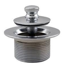 Bathtub Drain Plug Removal Tips by Westbrass 1 1 2 In Npsm Coarse Thread Twist And Close Bath Drain