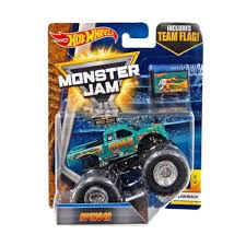 Obral Hot Wheels Monster Jam Avenger W Team Flag Diecast 164 - Obral.co
