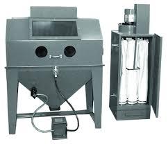 trinco dry blast w 400cfm pa5036400cfm trinco sandblast cabinet