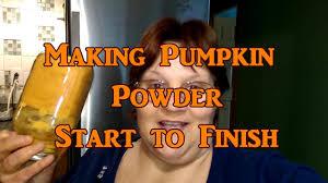 Pumpkin Pie Pulp Fiction by Making Pumpkin Powder Start To Finish Youtube
