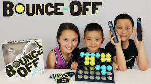 Mattel Bounce Off Fun Kids Board Game Trick Shots Challenge With Ckn Toys