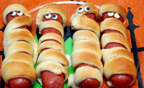 Halloween Hotdog Fingers by Dog Mummies U2014 Recipes Hubs