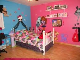 monster high room my 5 yr old daughter is into this monster