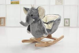 Adorable Plush Rocking Animal Chairs For Baby's Nursery ... Charles Eames Rocking Chair Elephant Grey At 1stdibs Kristalia Rocking Chair Whiteoak L Ozkezlabxrf3lvr6gqyw Solid Wooden Rocker Leather By Stylepark 1st Generation Elephant Hide Grey Rope Edge Armchair Buy Animal Adventure Circus Online Teamson Kids Safari Chairs Play Mamas Papas Ellery Vidaxl Baby Bouncers Rockers