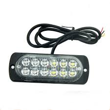 100 Strobe Light For Trucks Hot Led12t1 Emergency S 12 Pcs 2835led