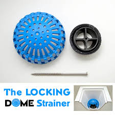 Commercial Sink Strainer Gasket by Locking Dome Strainer And Replacement Dome Strainer Permadrain