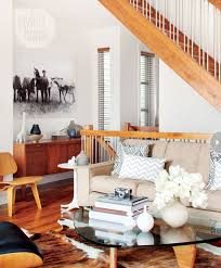 Rustic Sculptural Quality Mid Century Livingroom