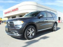 2015 Dodge Durango Captains Chairs by Used Dodge Durango For Sale In Tulsa Ok Edmunds