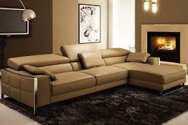 divani casa polaris contemporary bonded leather sectional sofa