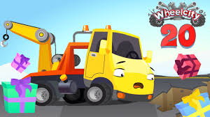 Car Cartoon For Kids Featuring Wheelcity Cars Hook The Tow Truck And ...