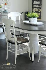 Farmhouse Table Chairs Style Painted Kitchen And With 4