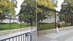 Secret Service Plans To Raise White House Fence By 5 Feet - NBC4 ... Best House Front Yard Fences Design Ideas Gates Wood Fence Gate The Home Some Collections Of Glamorous Modern For Houses Pictures Idea Home Fence Design Exclusive Contemporary Google Image Result For Httpwwwstryfcenetimg_1201jpg Designs Perfect Homes Wall Attractive Which By R Us Awesome Photos Amazing Decorating 25 Gates Ideas On Pinterest Wooden Side Pergola Choosing Based Choice