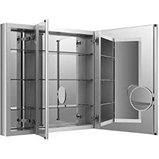 Afina Medicine Cabinet 48 by Amazon Com Broadway Triple Door Medicine Cabinet 48 In W X 30