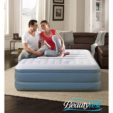 Aerobed With Headboard Uk by Insta Bed Raised Air Bed With Neverflat Ac Pump Queen Walmart Com