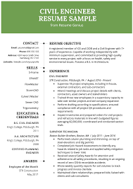 Civil Engineering Resume Example & Writing Guide | Resume Genius The 11 Secrets You Will Never Know About Resume Information Beautiful Cstruction Field Engineer 50germe Sample Rumes College Of Eeering And Computing Mechanical Engineeresume Template For Professional Project Engineer Cover Letter Research Paper Samples Velvet Jobs Fantastic Civil Pdf New Manufacturing Electrical Example Best Of Lovely