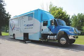 100 Michigan Truck McLaren Northern Creates Mobile Cardiac Testing Lab In Semi
